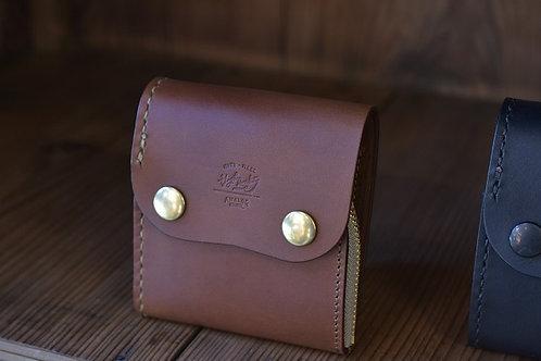 Roll wallet half  - Brown -