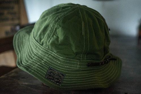 Six panel hat -green-