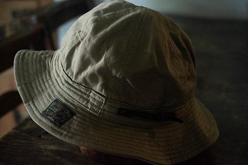 Six panel hat -olive-
