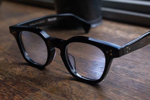 Hand made sunglasses -black-