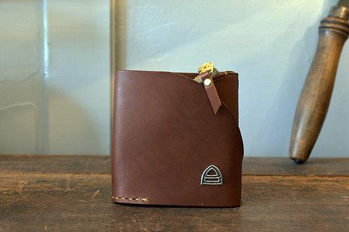 Mountain wallet half  - Brown -