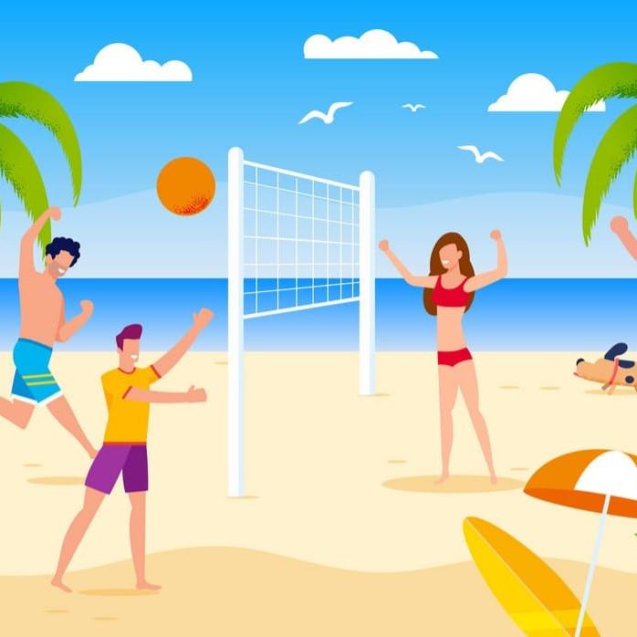 Beach Volleyball & Picnic