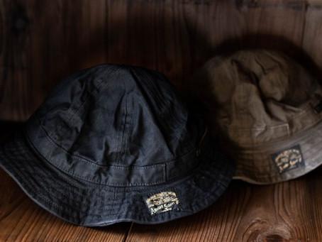 New paraffin canvas hat.
