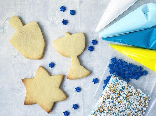 hanukkah diy cookie kit