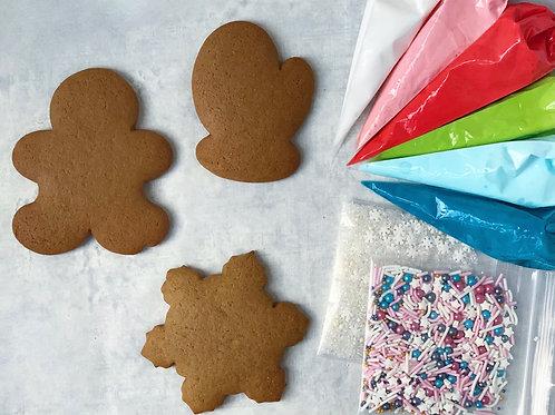 ginger winter diy cookie kit