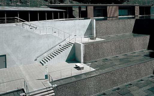 自然と空間、そして芸術を、ゆったり楽しめる美術館