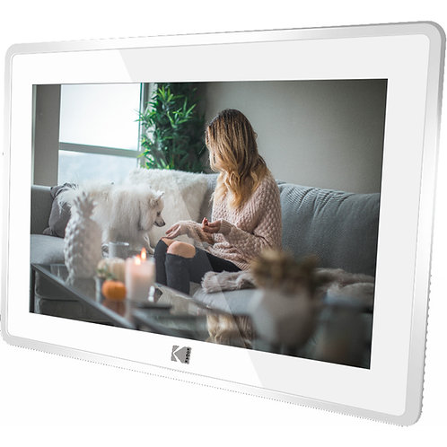 Kodak 10-Inch Touch Screen Digital Picture Frame, Wi-Fi Enabled
