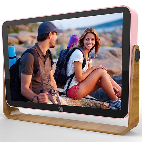 Kodak 10-Inch Smart Touch Screen Rechargeable Digital Picture Frame, Wi-Fi Enabl