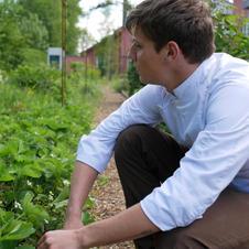 Inspiration au jardin comestible pour le restaurant