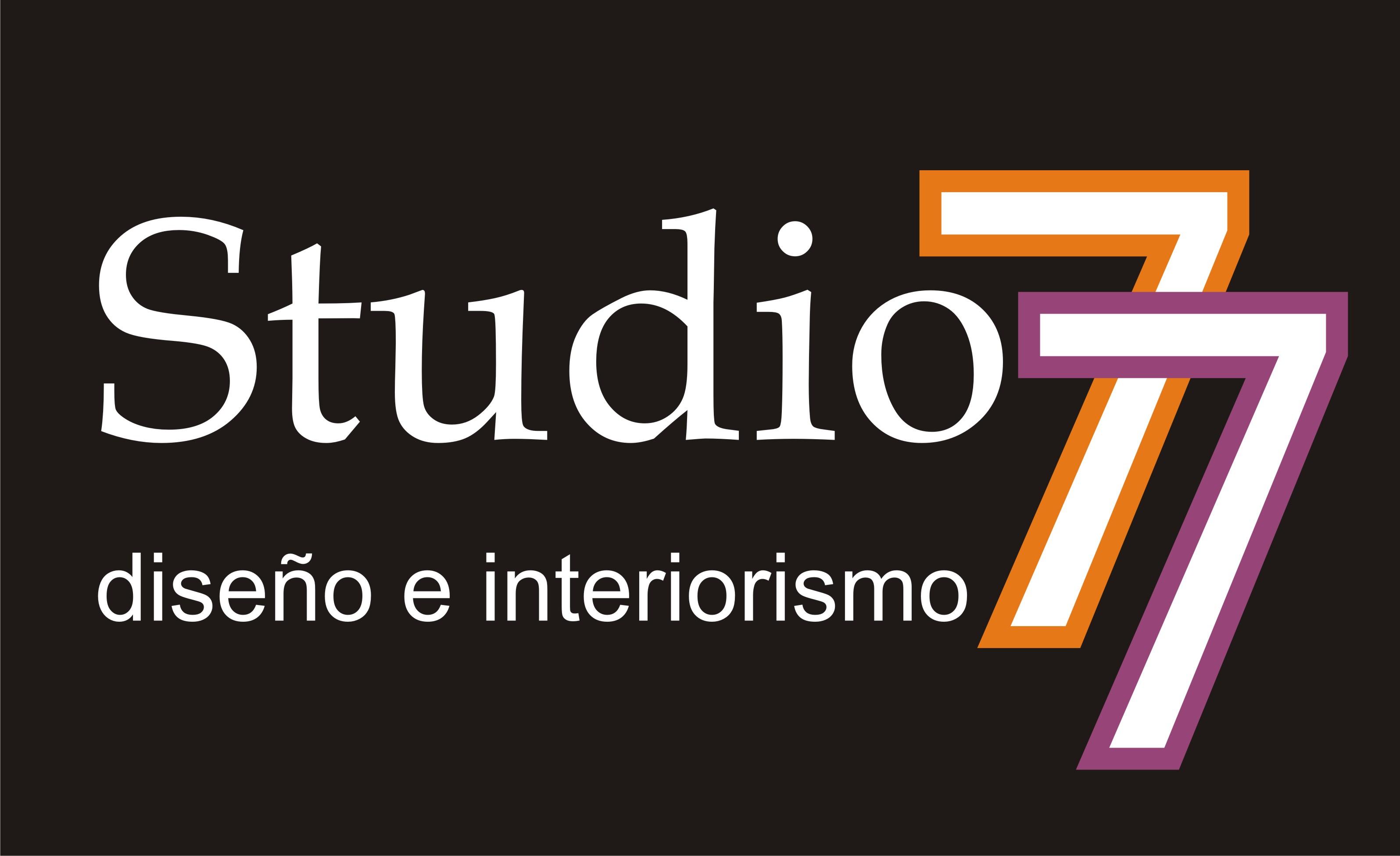 logotipo de STUDIO 77 DISEÑO E INTERIORISMO SL