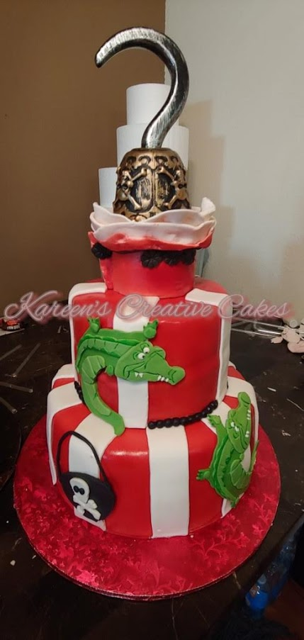 Hook Character Cake