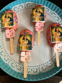 Pocohantas Ice Cream Cakepops