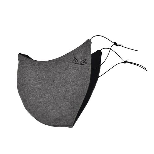 Jane Uncut - Maske Grau