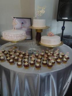 Sweet 16 desert table