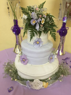 Lavendar  Wedding