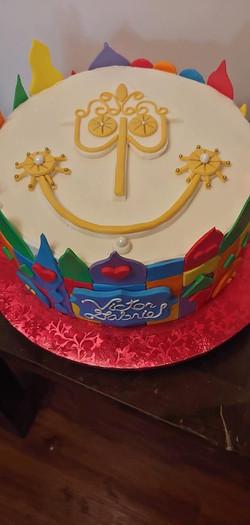 Clock Theme Cake2