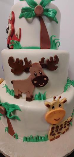 Woodland Theme Cake2