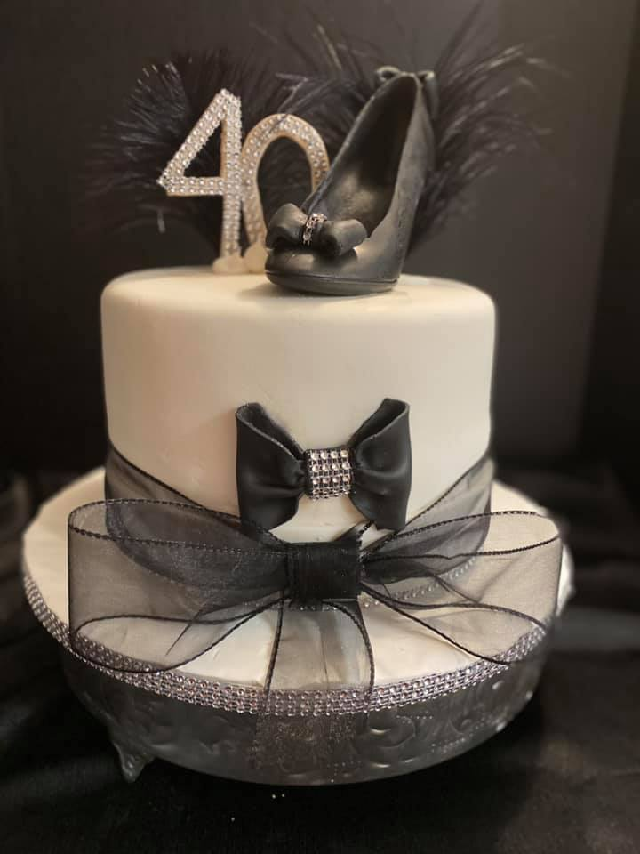 Elegant Shoe Cake 3