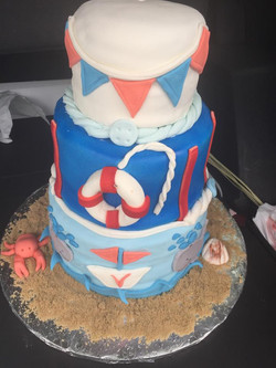 Sailor Theme Cake