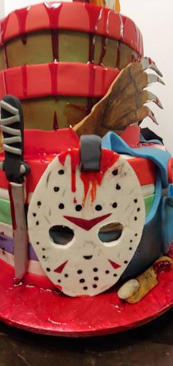 Halloween Monster Cake 3