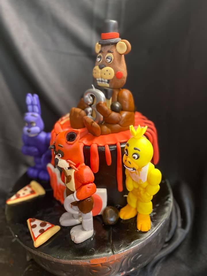 5Nights of Freddy Cake 2