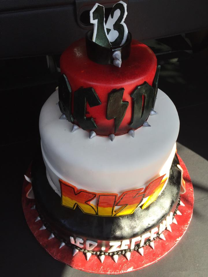 Heavy Metal Cake