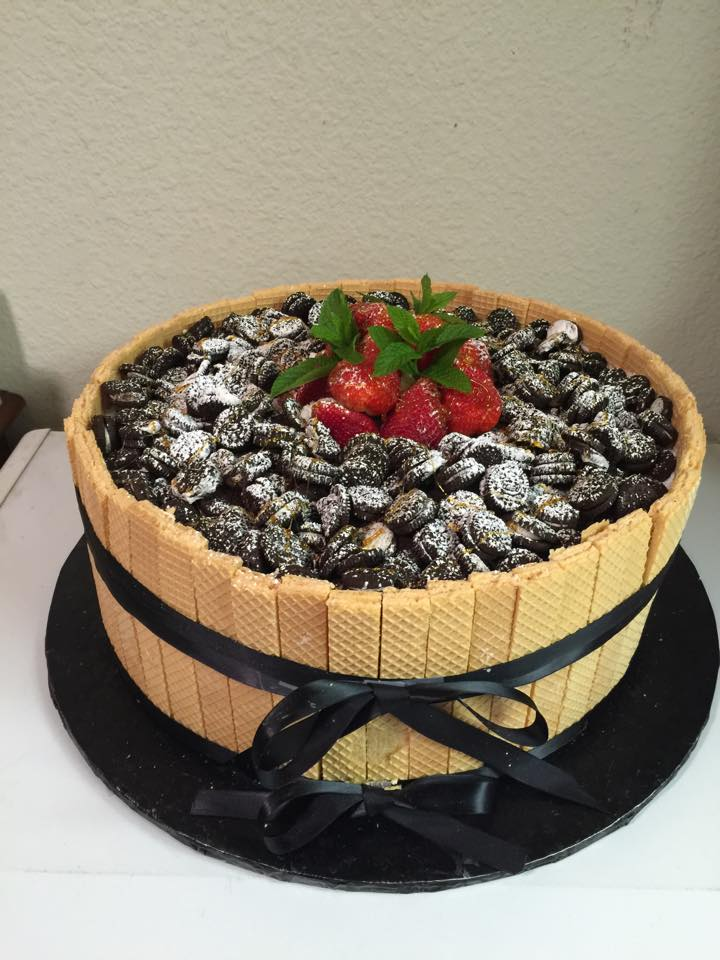 Barrel of Cookie Cake
