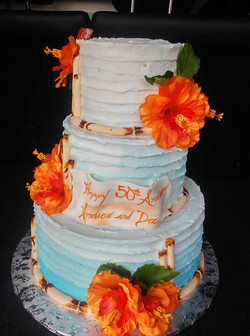 Hawaii Theme Cake
