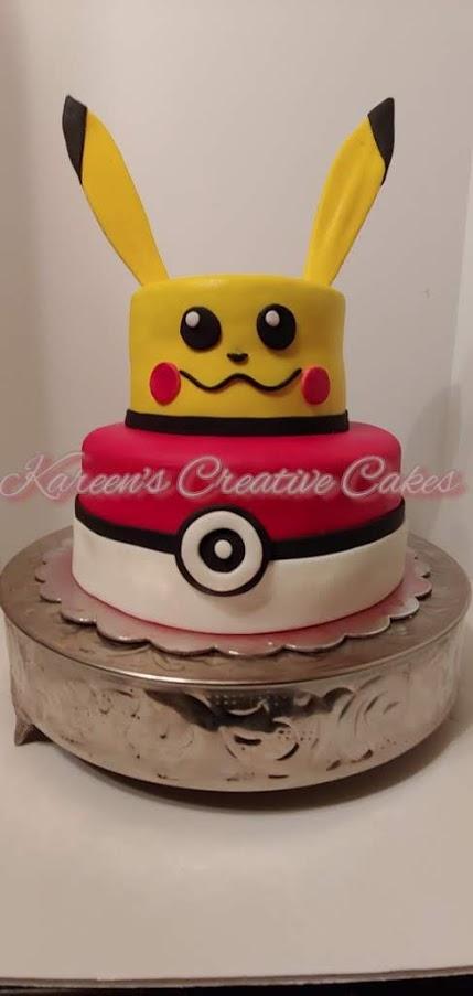 Poki Mon Cake