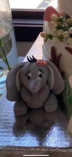 Elephant Baby Topper