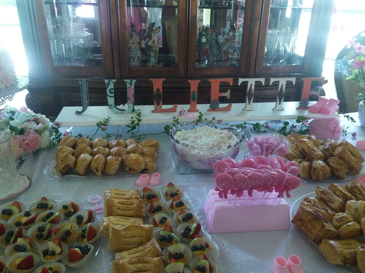 Dessert treats table