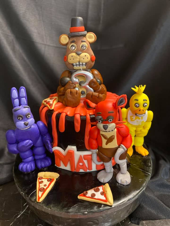 5Nights of Freddy Cake