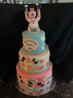 Baby Workout Cake