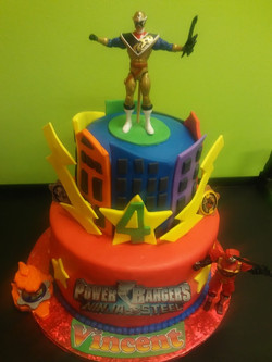 Power Ranger Cakes