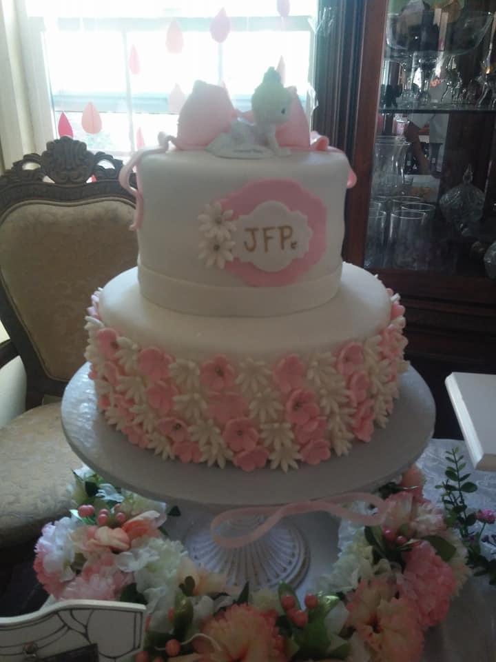 Babyshower Girl Cake