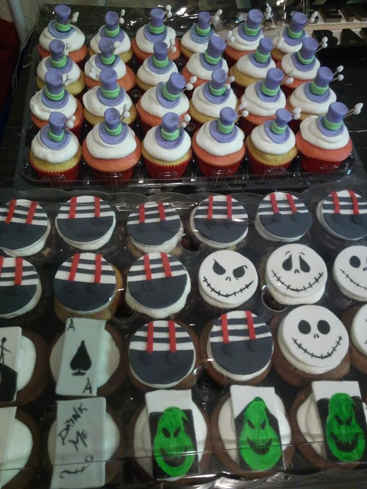 Tim Burton Cupcakes