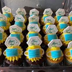 Masks Cupcakes