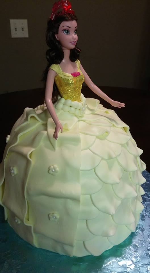 Character Doll Cake