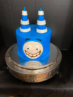 Oddbod Theme Cake