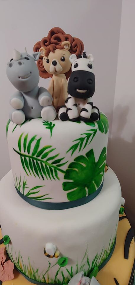 Wild Baby Animal Cake 3
