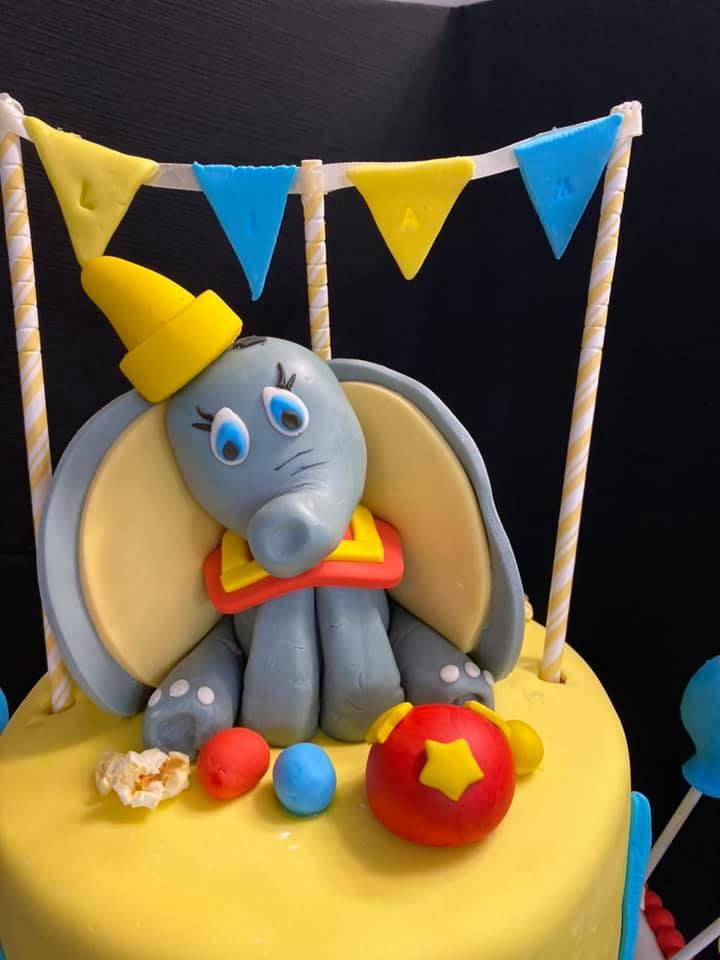 Dumbo Character Cake Topper