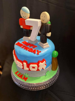 Roblox Boy Theme Cake