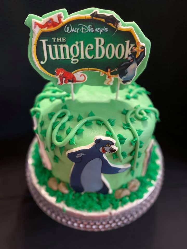 Jungle Theme Cake 2