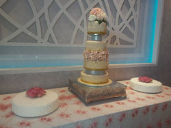 Flowers and Jewels Cake