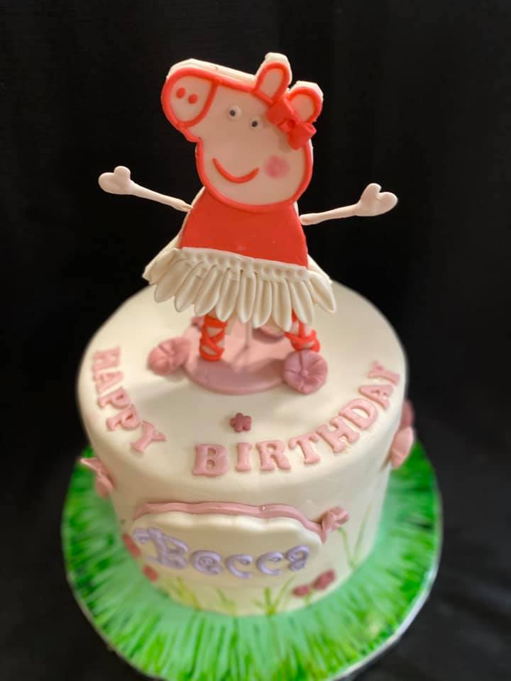 Peppa Pig Theme Cake 2
