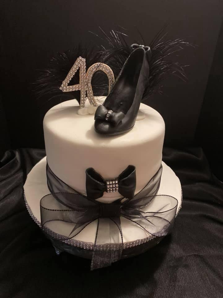 Elegant Shoe Cake 2