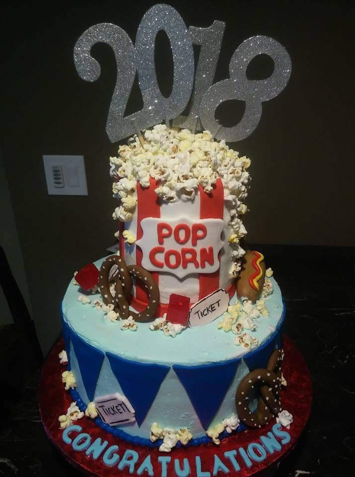 Carnical Theme Cake