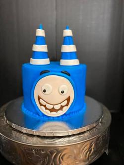Oddbods Theme Cake