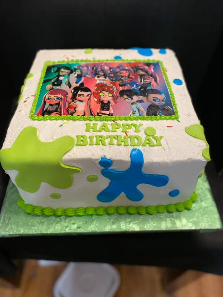 Octolings Cake