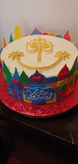 Clock Theme Cake